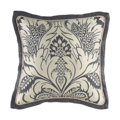 Croscill Classics Auden 18x18 Square Throw Pillow