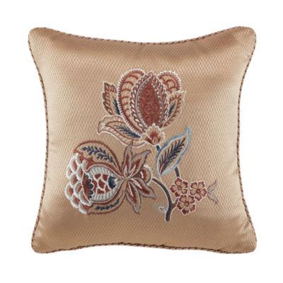 Croscill Classics Brenna 16x16 Square Throw Pillow