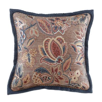 Croscill Classics Brenna 18x18 Square Throw Pillow