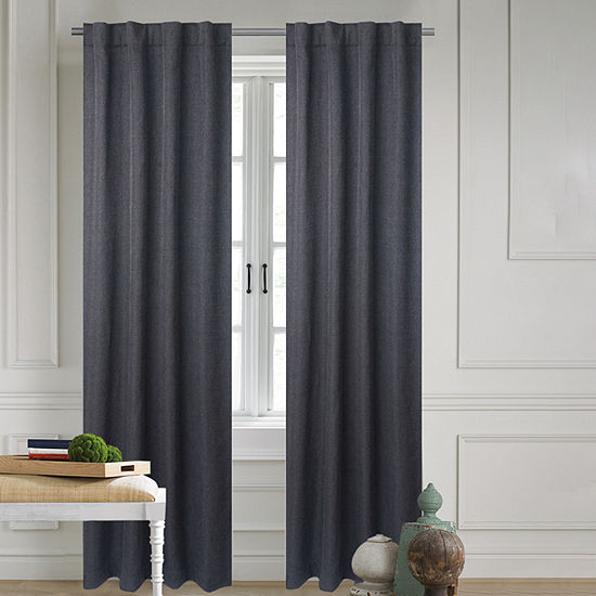 Bella Valenti Allaire Light-Filtering Back-Tab Curtain Panel