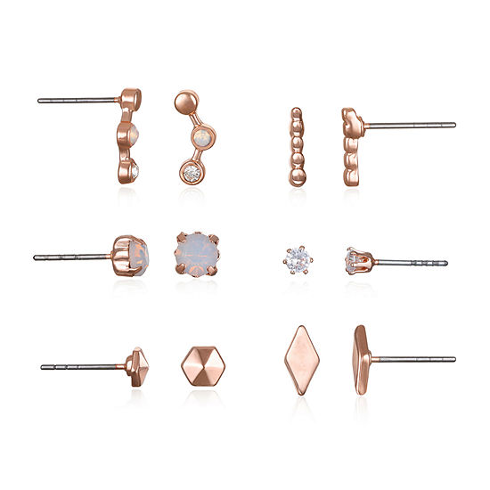Bijoux Bar 6 Pair Earring Set