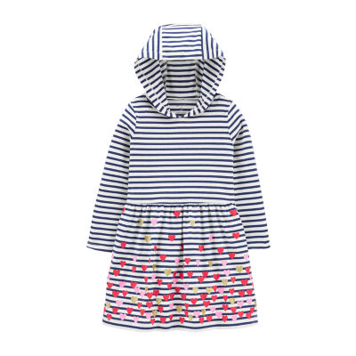 Carter's - Toddler Girls Long Sleeve A-Line Dress