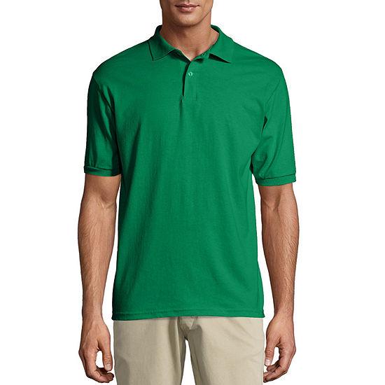 Hanes Ecosmart Mens Short Sleeve Polo Shirt