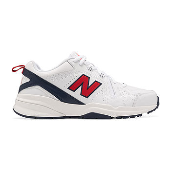 Reportero Currículum Avanzado  New Balance 608 Mens Training Shoes, Color: White Red Blue - JCPenney