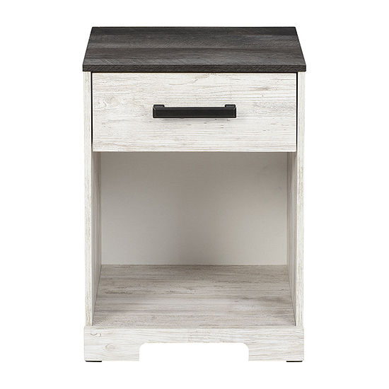 Signature Design by Ashley Shawburn Bedroom Collection 1-Drawer Nightstand