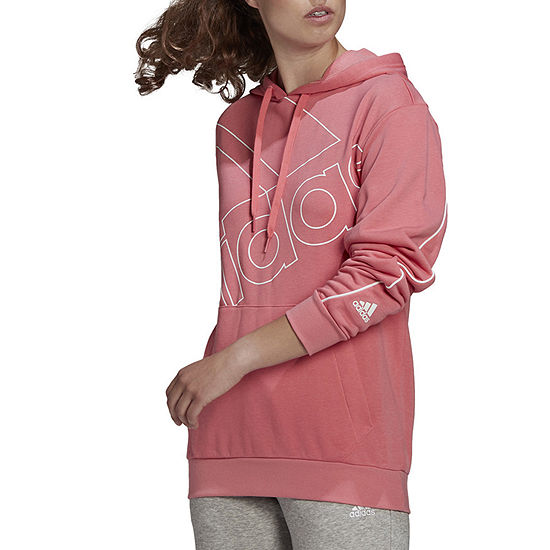 adidas Womens Hooded Neck Long Sleeve Hoodie