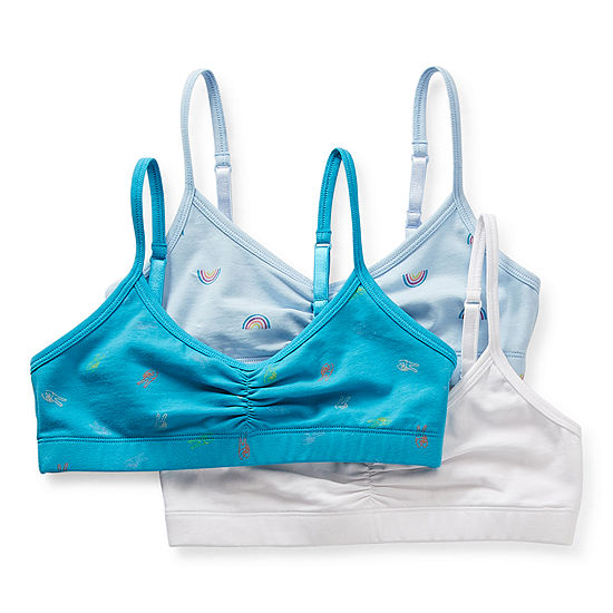 Thereabouts Big Girls 3-pc. Bralette