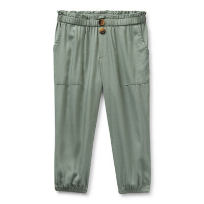 Thereabouts Toddler Girls Ankle Pull-On Pants