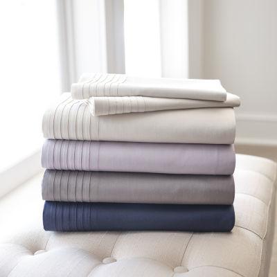 Fieldcrest Luxury Pleated Cotton & Tencel™ Lyocell Sheet Set