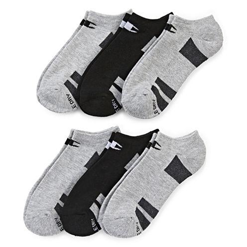 Champion® 6-pk. Double Dry® No-Show Socks