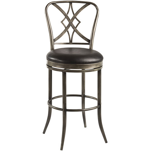 Richton Swivel Barstool with Back