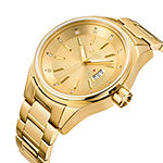 JBW Mens Multi-Function Diamond Accent Gold Tone Bracelet Watch-J6287l
