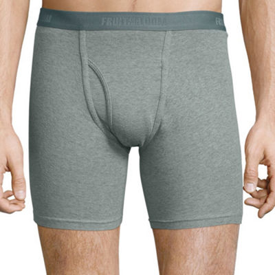 Fruit of the Loom® Premium Cotton Boxer Briefs 4+1 Bonus Pack