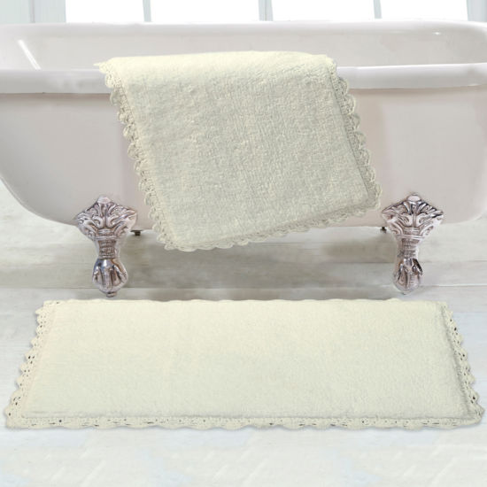Chesapeake Merchandising Crochet 2-pc. Bath Rug Set