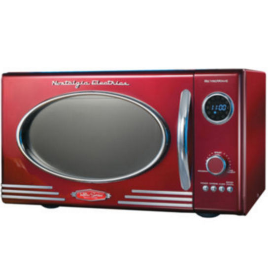 Nostalgia RMO400RED Retro Series 0.9-Cubic Foot 800-Watt Microwave