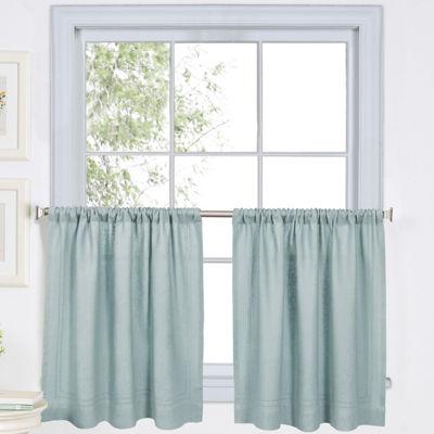 Elrene Rod-Pocket Window Tiers