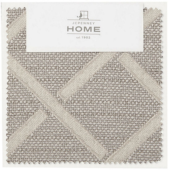 JCPenney Home™ Quinn Lattice Swatch Card