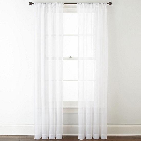 Studio™ Kramer Rod-Pocket Sheer Curtain Panel