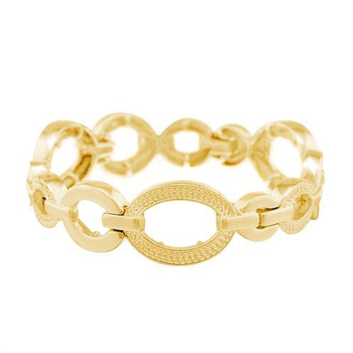 Gloria Vanderbilt White Stretch Bracelet