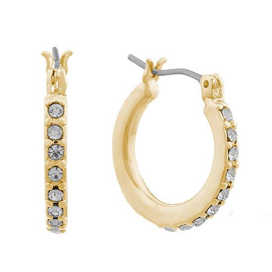 eacb3e0620f5d Gloria Vanderbilt Hoop Earrings JCPenney