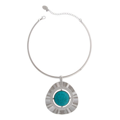 EL by Erica Lyons Womens Silver Over Brass Pendant Necklace