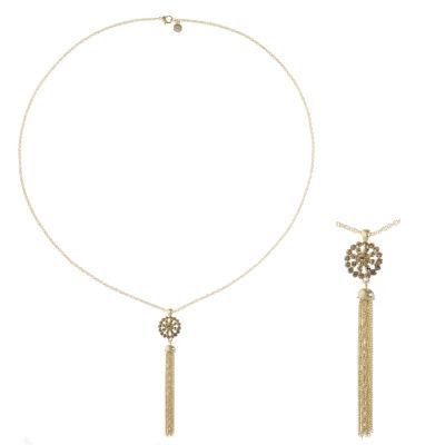 Monet Jewelry Womens Brown Pendant