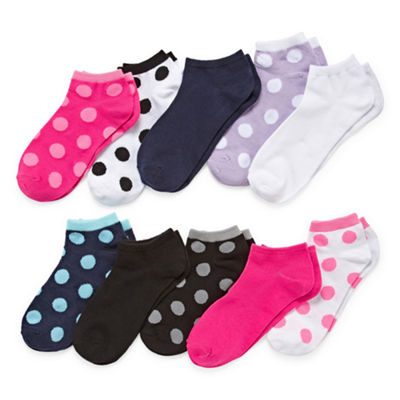Total Girl 10-pc. Low Cut Socks