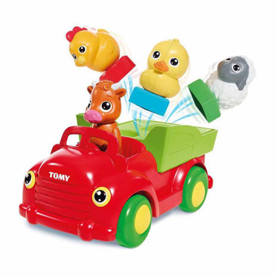 TOMY Sort n' Pop Farm Yard Friends Musical Car