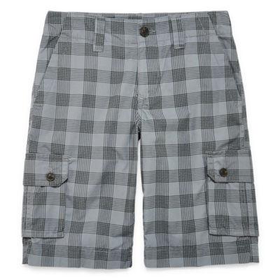 Arizona Poplin Cargo Shorts - Big Kid Boys