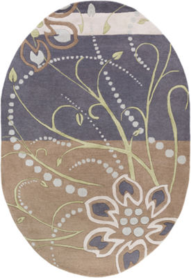 Decor 140 Alocasia Hand Tufted Oval Rugs