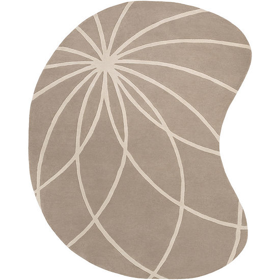 Decor 140 Asano Kidney Shape Hand Tufted Rugs