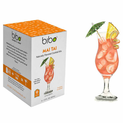 BIBO Mai Tai 18-Count Cocktail Mix Pouches