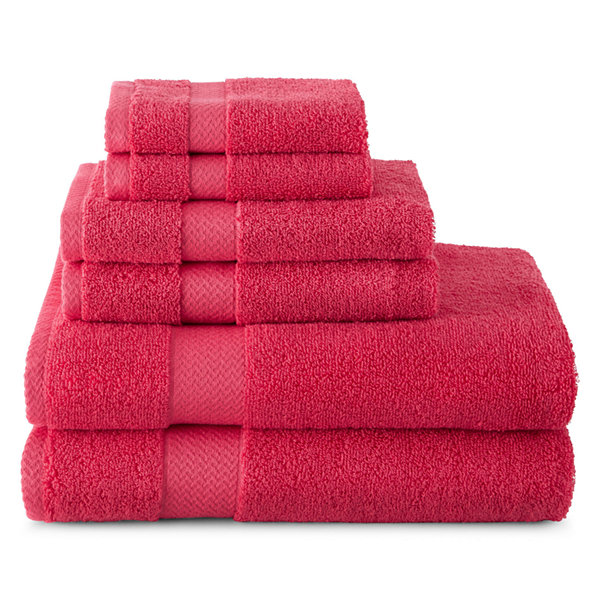 JCPenney Home Solid Bath Towels JCPenney