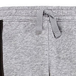 Okie Dokie Fleece Baby Boys Cuffed Jogger Pant