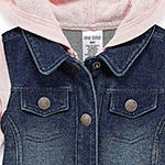 Okie Dokie Baby Girls Denim Jacket