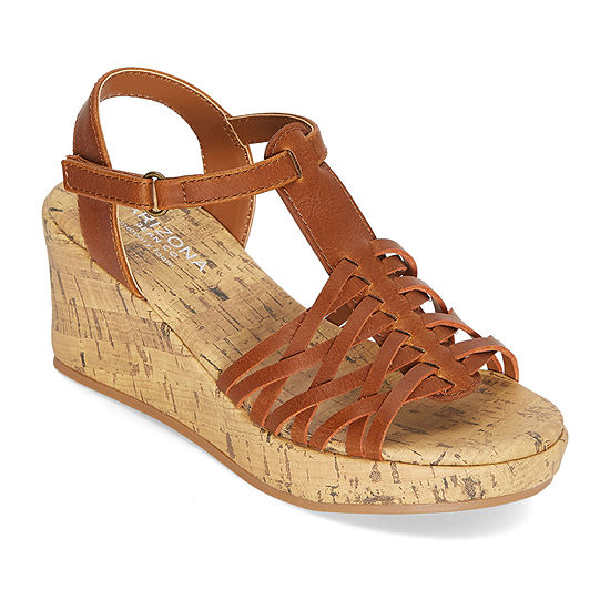 Arizona Little Kid/Big Kid Girls Scout Wedge Sandals