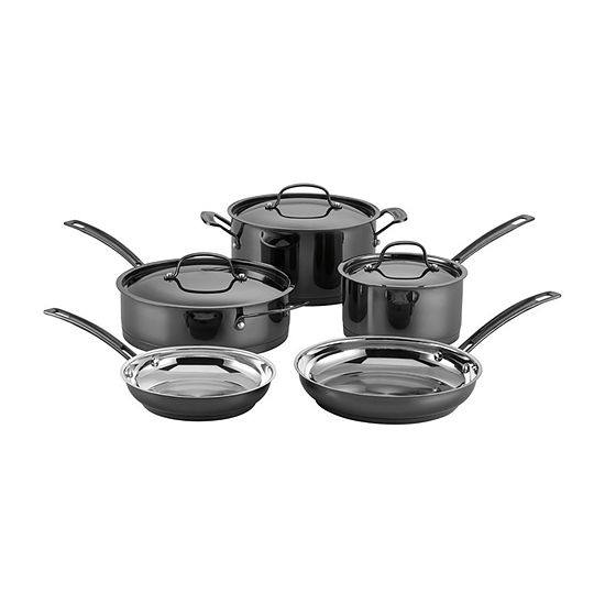 Cuisinart Micashine 8-pc. Stainless Steel Dishwasher Safe Cookware Set