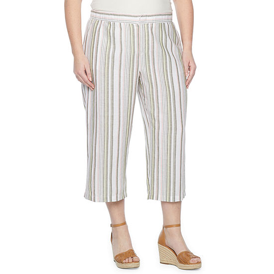 Liz Claiborne Plus Cropped Pants