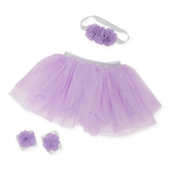 Little Cuties 0-6 Months Tutu Baby Girls 2-pc. Baby Gift Set