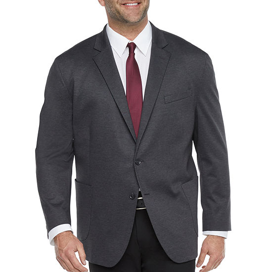 JF J.Ferrar Everyday 360 Mens Stretch Regular Fit Sport Coat - Big and Tall