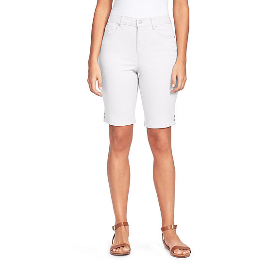 "Gloria Vanderbilt Amanda Womens High Rise 11"" Bermuda Short"