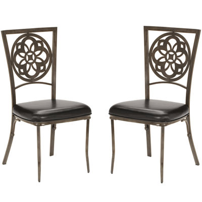Fairfield Faux-Leather Dining Chair