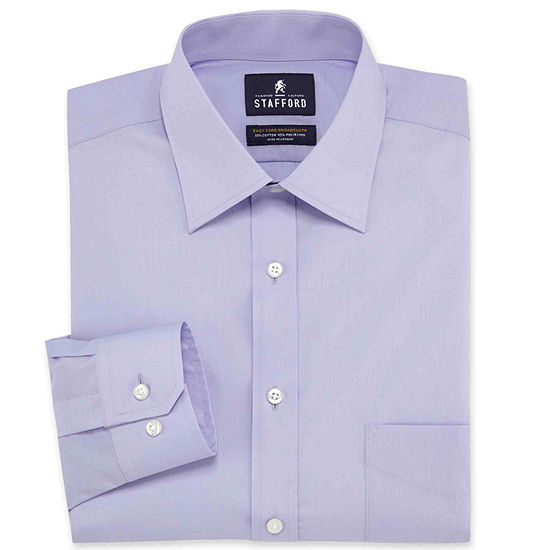 Stafford Men's Regular-Fit Easy-Care Dress Shirt