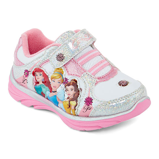Disney® Princess Girls Light-Up Sneakers - Toddler