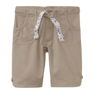 U.S. Polo Assn.® Bermuda School Uniform Shorts with Reversible Belt - Girls 7-16