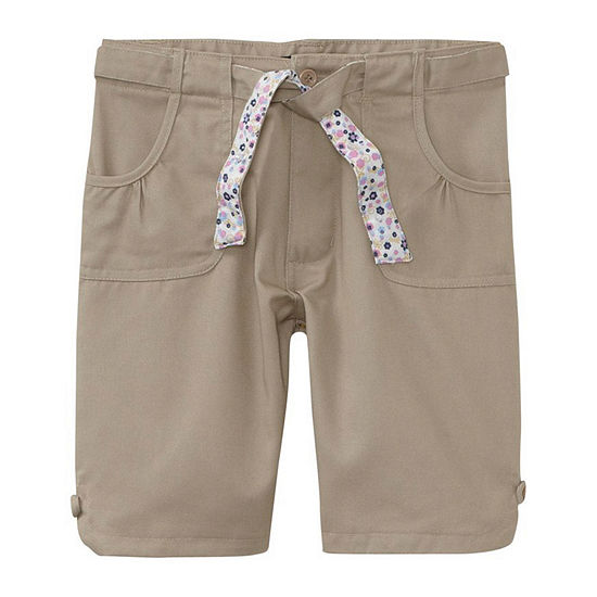 U.S. Polo Assn.® Bermuda School Uniform Shorts with Reversible Belt - Girls 7-16