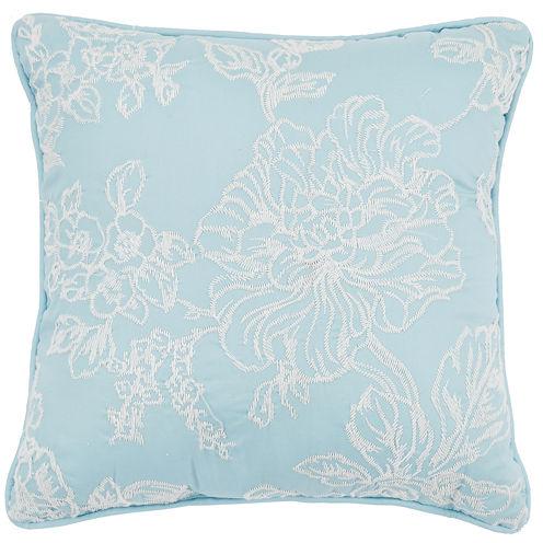 MaryJane's Home Enchanted Grove Square Decorative Pillow