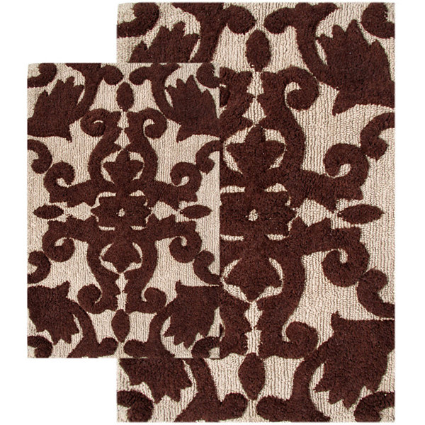 Chesapeake Merchandising Iron Gate 2-pc. Bath Rug Set