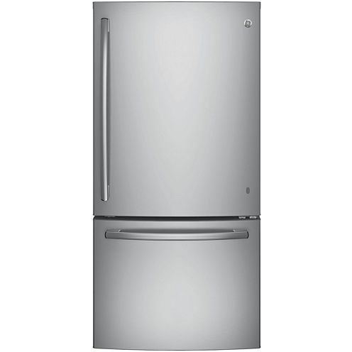 GE® Series ENERGY STAR® 24.9 cu. ft. Bottom-Freezer Drawer Refrigerator