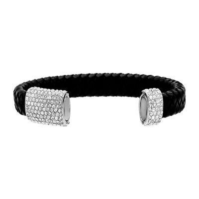 Womens 1 1/4 CT. T.W. White Cubic Zirconia Wrap Bracelet